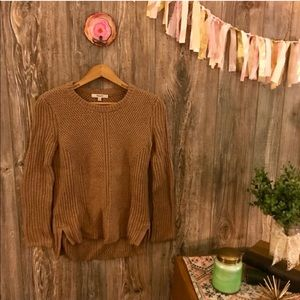 Madewell fisherman sweater